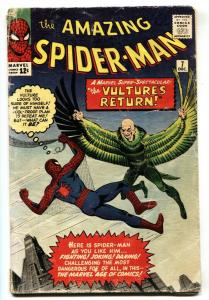 Amazing Spider-Man #7 1963 Vulture comic book Marvel