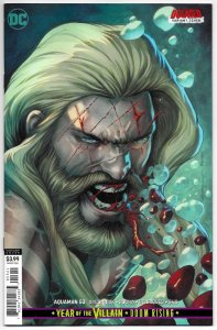 Aquaman #53 Sandoval DCeased Variant Cvr (DC, 2019) NM