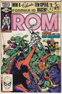 Rom(Marvel) # 24 The Return of Nova on the planet, XANDER !
