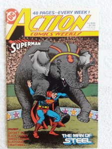 ACTION COMICS #630, VF/NM, Superman, Green Lantern, DC, 1938 1988 more in store