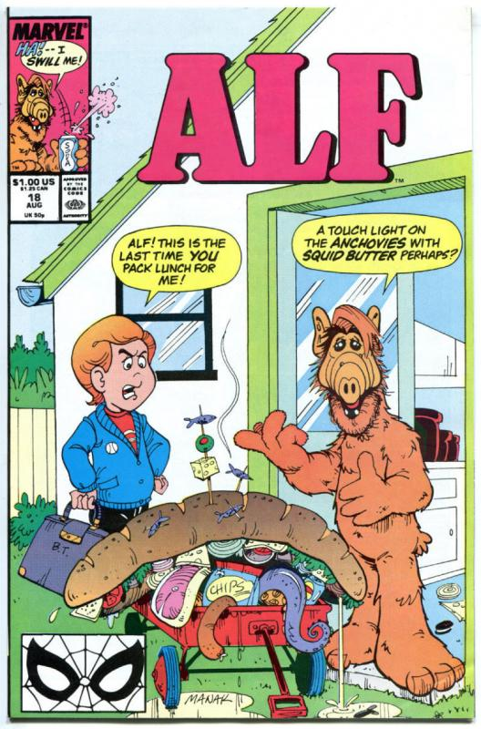 ALF #18 19 20 21 22, VF/NM, Alien, Based on TV show, 1988, 5 issues in all