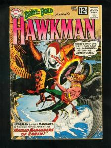 BRAVE AND THE BOLD #43 1962-HAWKMAN-JOE KUBERT-good/very good G/VG