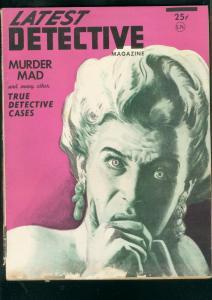 LATEST DETECTIVE PULP-WINT 1948-DAYTONA BEACH CRIME     G