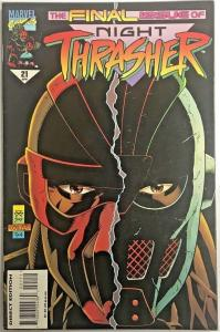 NIGHT THRASHER#21 FN/VF 1995 FINAL ISSUE MARVEL COMICS