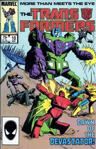 Transformers, The #10 FN; Marvel | save on shipping - details inside
