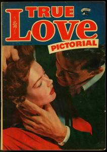 True Love Pictorial #1 1952 ONLY PHOTO COVER ST JOHN VG