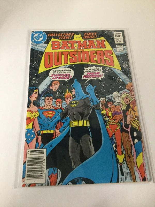 Batman And The Outsiders 1 8.0 VF Very Fine DC Comics