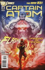 DC CAPTAIN ATOM (2011 Series) #3 NM