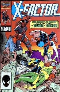 X-Factor #4 (1986)