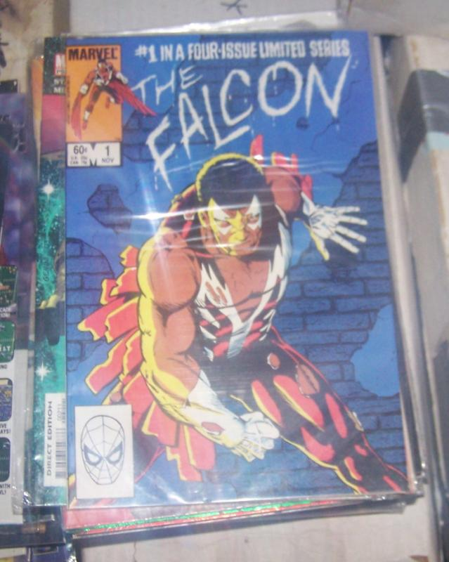 Falcon #1 (Nov 1983, Marvel) sam wilson mini series avengers