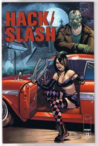 HACK / SLASH #12 B, NM, Tim Seeley, Serial Killer,  2011, Image,more HS in store