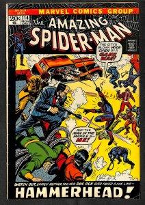Amazing Spider-Man #114 VG+ 4.5 Hammerhead! Marvel Comics Spiderman