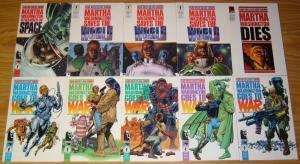 Martha Washington Mega Set of (15) VF/NM complete series - frank miller big lot