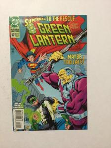 Green Lantern 53 NM Near Mint Signed By Romeo Tanghal With C.O.A.