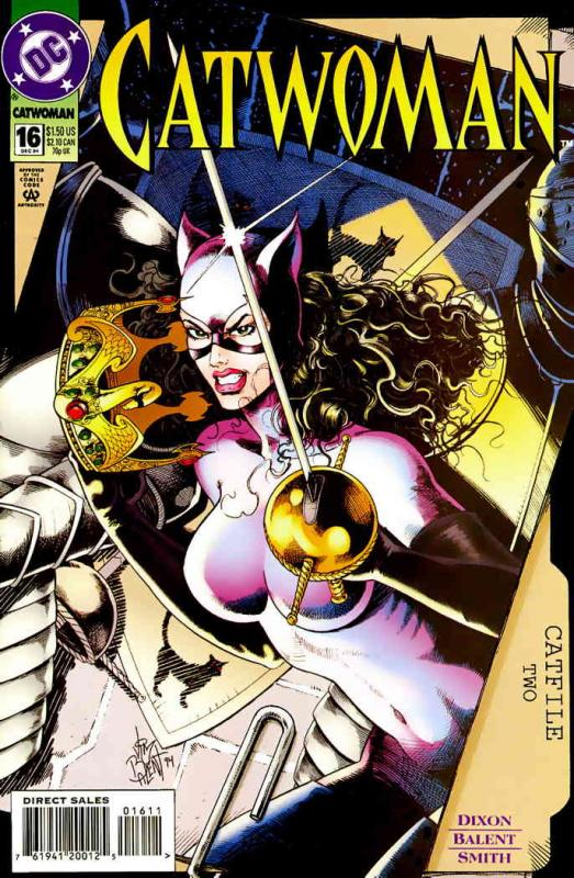 Catwoman (2nd series) #16 VF/NM; DC | save on shipping - details inside