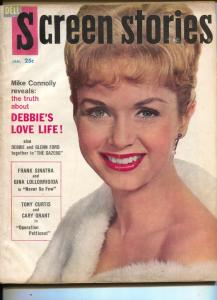 Screen Stories-Debbie Reynolds-Yul Brynner-Gina Lollobrigida-Jan-1960