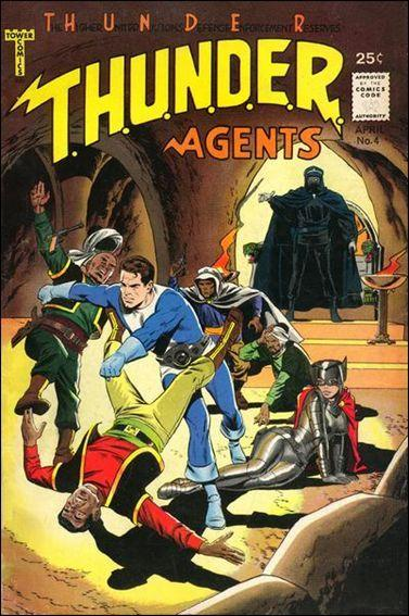 Tower Comics T.H.U.N.D.E.R. AGENTS #4 GD+