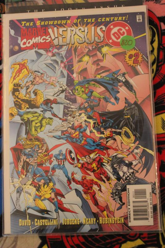 Marvel Comics Versus DC 2 NM/MT