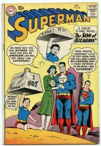 Superman 140 Oct 1960 VG+ (4.5)