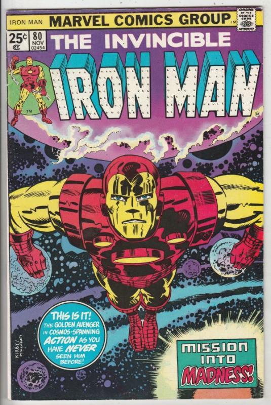 Iron Man #80 (Nov-75) VF High-Grade Iron Man