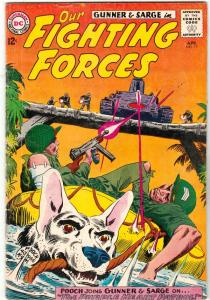 Our Fighting Forces #75 (Apr-63) FN- Mid-Grade Gunner