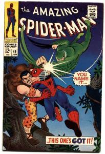 AMAZING SPIDER-MAN #49-MARVEL COMICS SILVER-AGE comic book