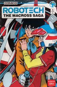 Robotech: The Macross Saga #3, NM- (Stock photo)