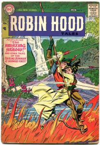 Robin Hood Tales #8 1957- DC Silver Age- VG