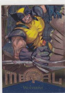 1995 Fleer Marvel Metal WOLVERINE #125  Card