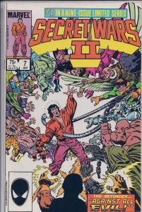 Secret Wars II, Vol. 1, No.7, Jan 1986, by Marvel Comics