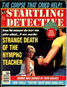 Startling Detective 11/1986-violent crime-pulp thrills-photos-G