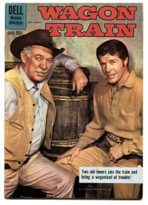 Wagon Train #4 1960- Dell TV Western- Robert Horton VF
