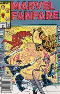 Marvel Fanfare #46 VF/NM; Marvel | save on shipping - details inside