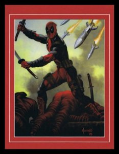Deadpool X Men Framed 11x14 Marvel Masterpieces Poster Display