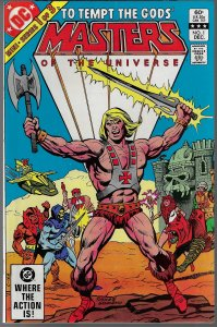 He-Man: Masters of the Universe #1 (DC, 1982) NM