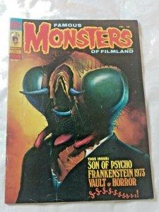 Vtg Famous Monsters of Filmland #104 The Fly 1974 Warren magazine FN