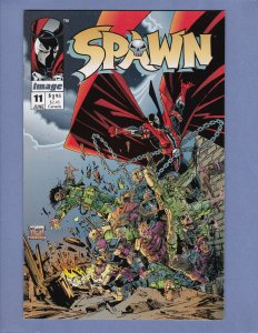 Spawn #11 NM Frank Miller Todd McFarlane Includes Poster Image Comics 1993