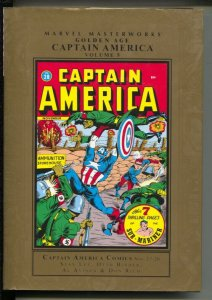 Marvel Masterworks Golden Age Captain America-Stan Lee-Vol 5-2011-HC-VG/FN