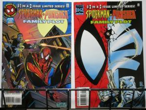 SPIDERMAN PUNISHER FAMILY PLOT (1996) 1-2 complete set!