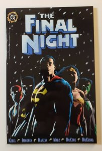 THE FINAL NIGHT TPB SOFT COVER DC COMICS FIRST PRINT NM RARE