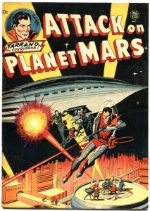 ATTACK ON PLANET MARS-1951-AVON ONE SHOT-WALLY WOOD-JOE KUBERT-ROCKET COVER