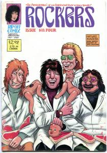 ROCKERS #1 2 3 4 5, VF-, 1988, 5 issues, #1 Signed R L Crabb w/ small remark