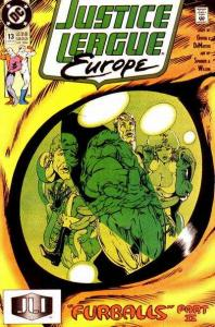 Justice League Europe #13, VF+ (Stock photo)