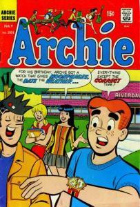 Archie Comics #201, Fine (Stock photo)