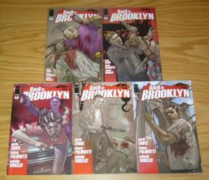 Back to Brooklyn #1-5 VF/NM complete series - garth ennis - crime thriller 2 3 4