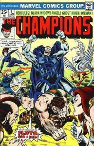 Champions (1975 series) #2, VF+ (Stock photo)