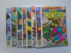 Star Hunters SET #1-7 & DC Super Stars Special- AVG 7.0 FN/VF - 1977