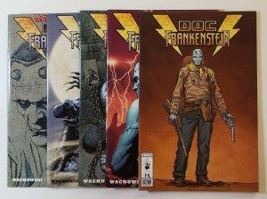 Doc Frankenstein #1 2 3 4 5 Burly Man Comics 1st Print Geoff Darrow 2004 VF/NM