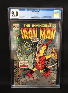 Iron Man #36 (Marvel, 1971) CGC 9.0