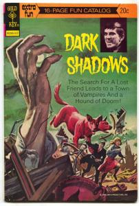Dark Shadows #23 1973- FUN CATALOG- Gold Key Comics FN